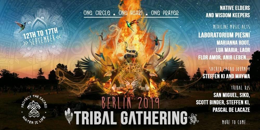 Tickets Tribal Sommer Gathering Berlin, One Circle, One Heart, One Prayer in Berlin